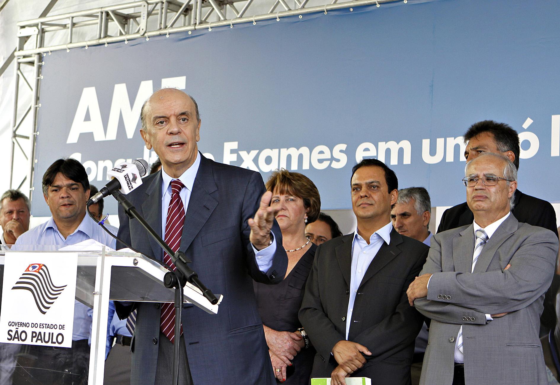 O Governador Jose Serra inaugura unidade da AME na cidade de Limeira. Data : 25/02/2010 Sao Paulo-SP Foto:Sergio Andrade/Governo do Estado de SP